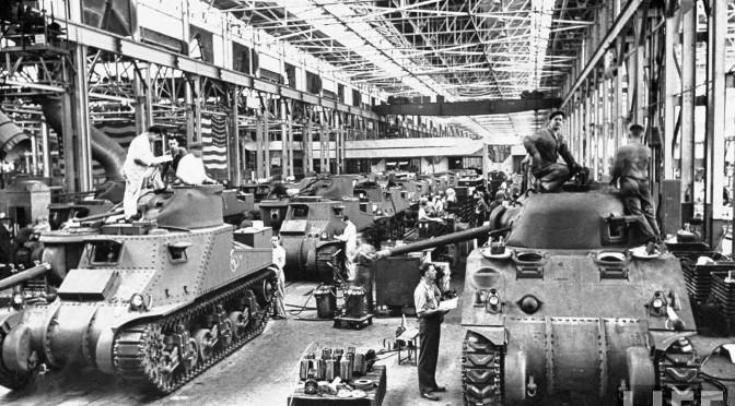 Time Capsule Vintage Detroit Car Maker World War Ii
