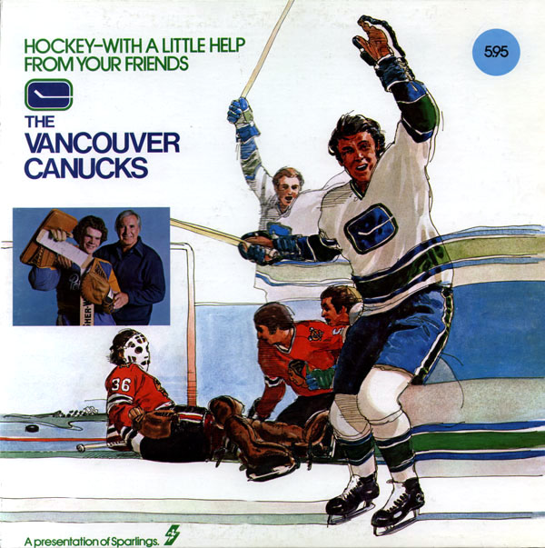 Album Cover of the Week: The Vancouver Canucks, Hockey — With a Little Help from Your Friends