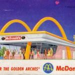 McDonald's Filet Fish card, 1967