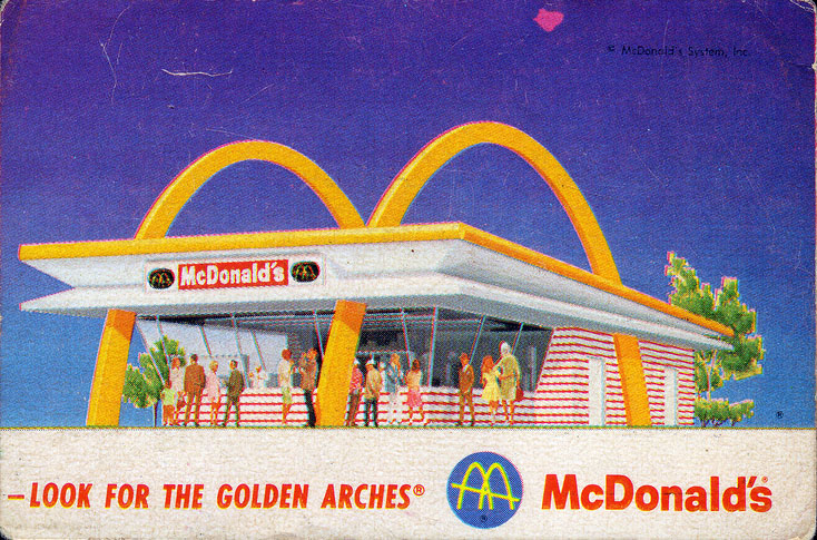 McDonald's Filet Fish card, 1967