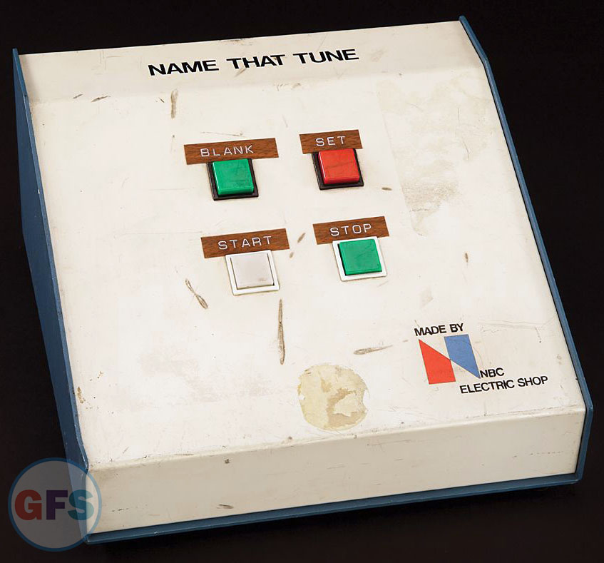 Name That Tune Control Box - NBC