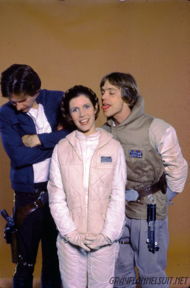 Four Hilarious Star Wars Photos from The Empire Strikes Back