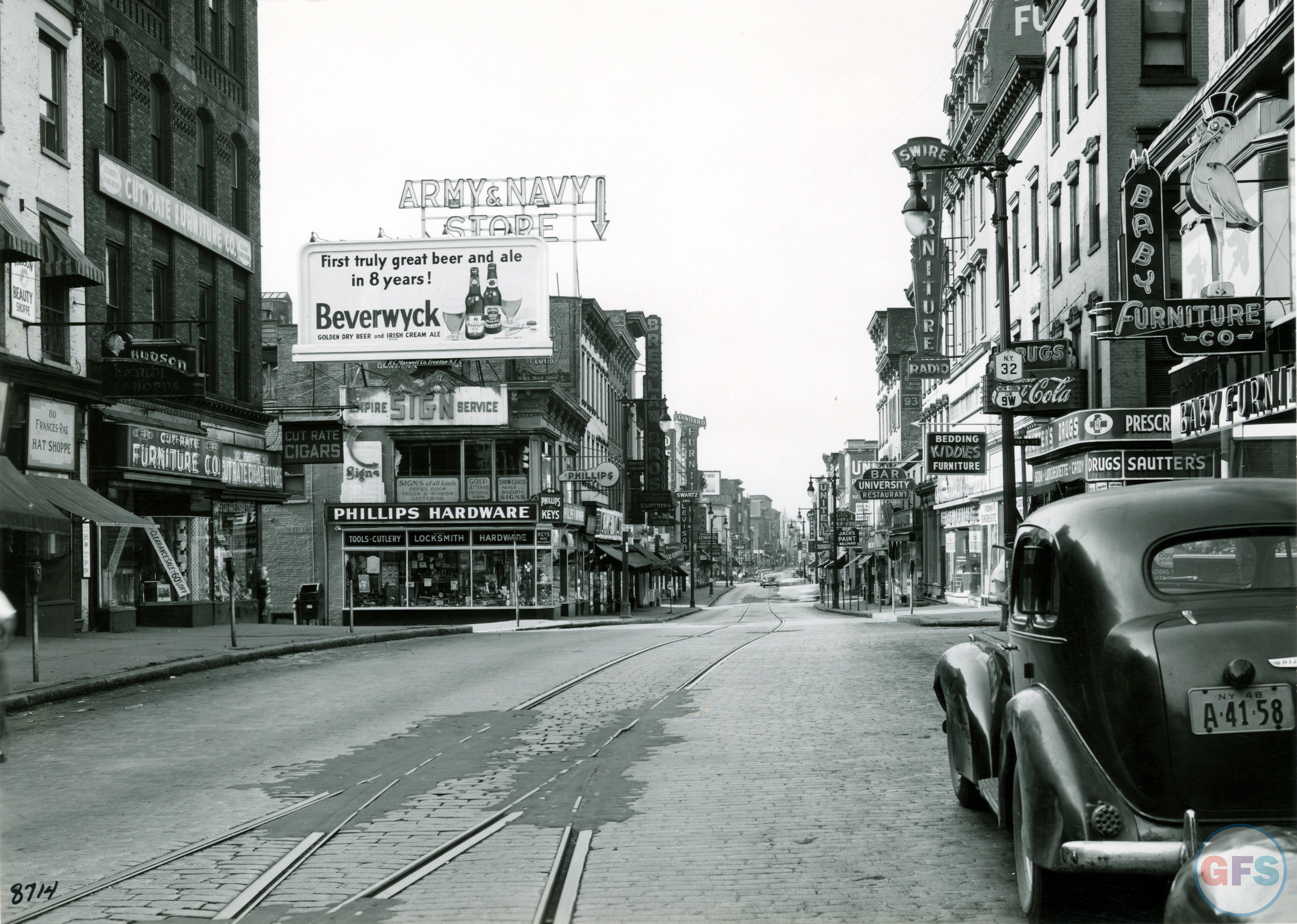 Vintage Photo Wednesday, Vol. 28: Albany Street Ads, 1948