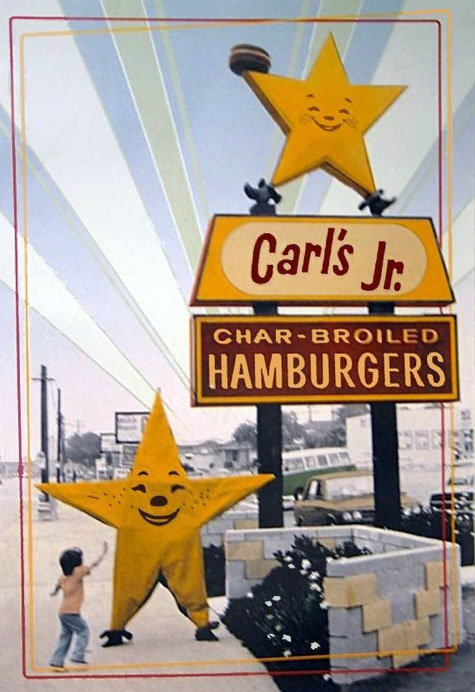 Carl's Jr. sign logo (1978)