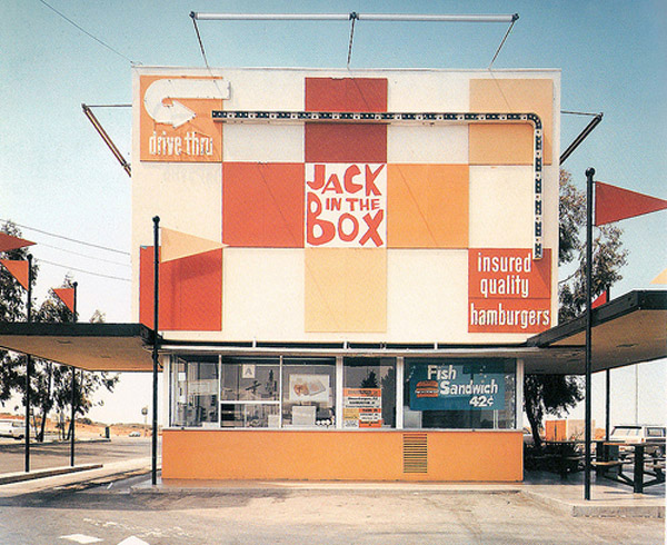 Jack in the Box burger location, circa 1956