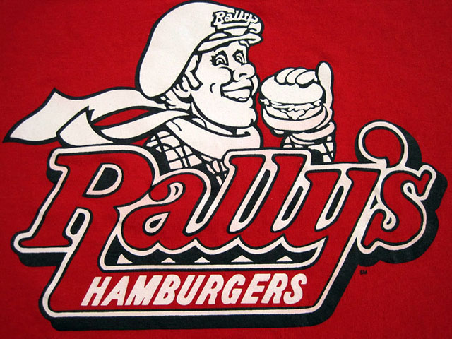 Rally's Hamburgers logo (1985)