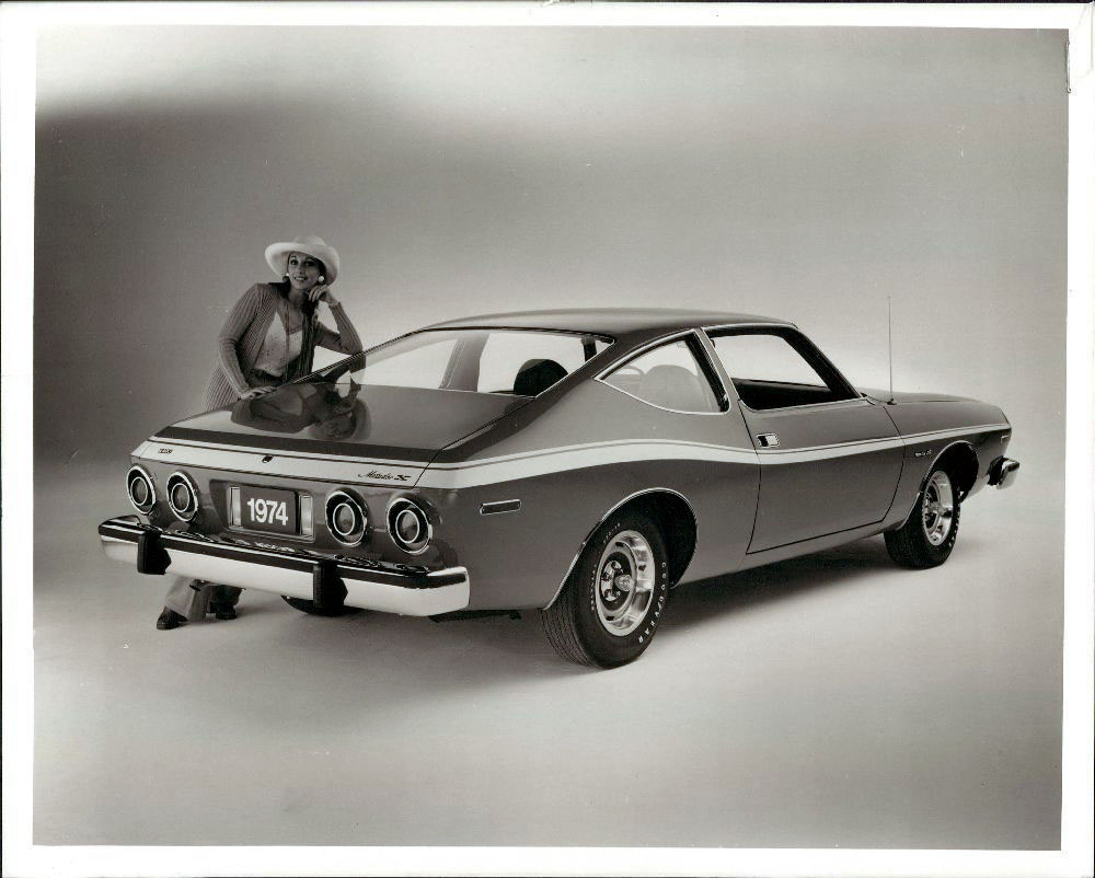 1974 AMC Matador wire photo