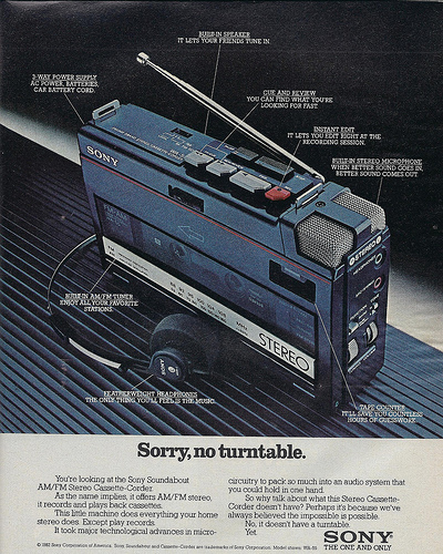 Sony Soundabout ad (1982)