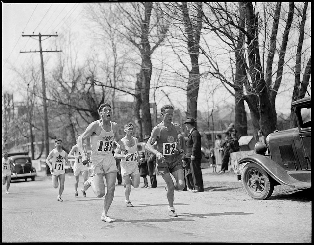 The Boston Marathon, 1930 (Leslie Jones)