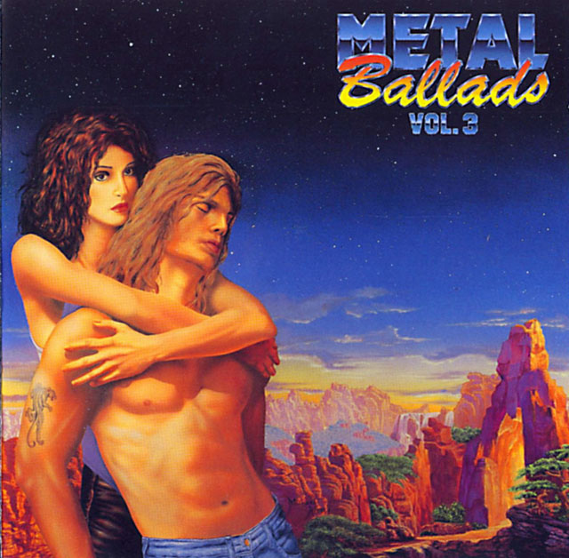 Metal Ballads, Vol. 3 (1990) album cover art