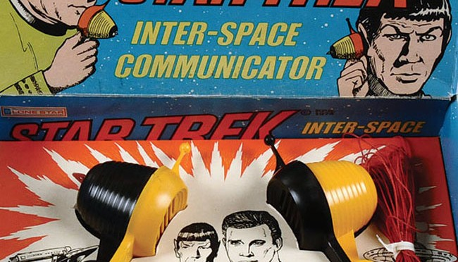 Star Trek Toy: Inter-Space Communicator (Lone Star, 1974)