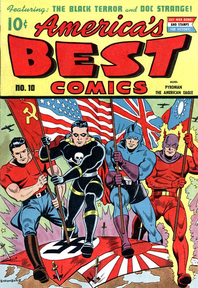 America's Best Comics #10, July 1944