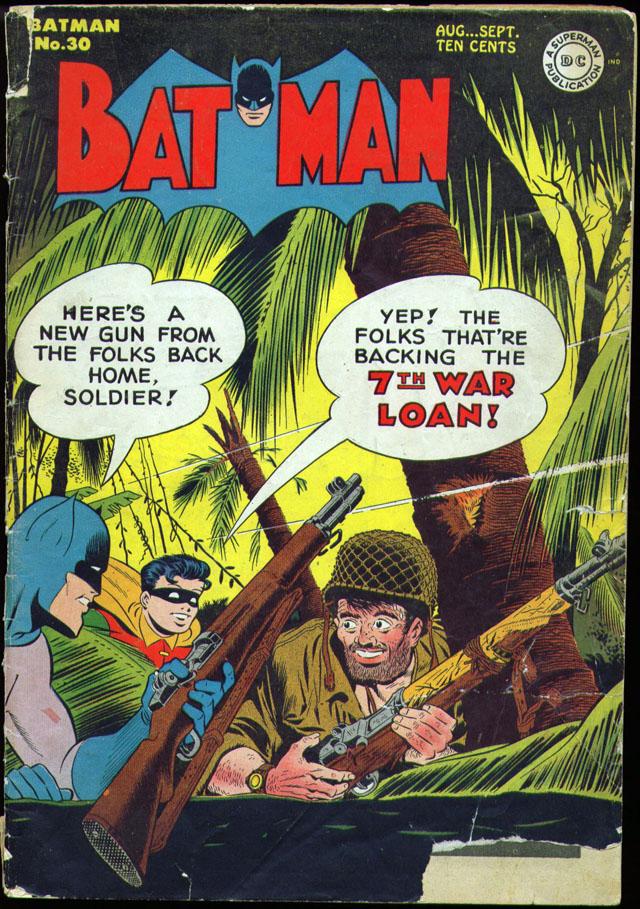 Batman #30, August/September 1945