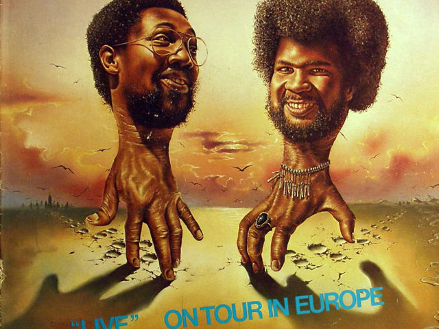 "Album Cover of the Week: The Billy Cobham/George Duke Band, ""Live"" On Tour in Europe"