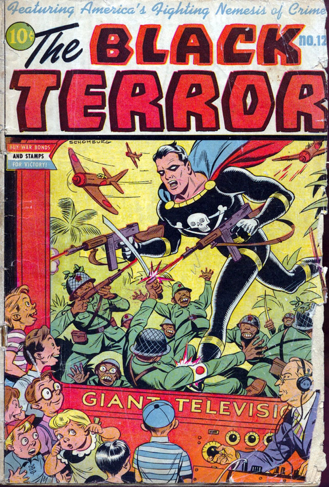 The Black Terror #12, August 1945