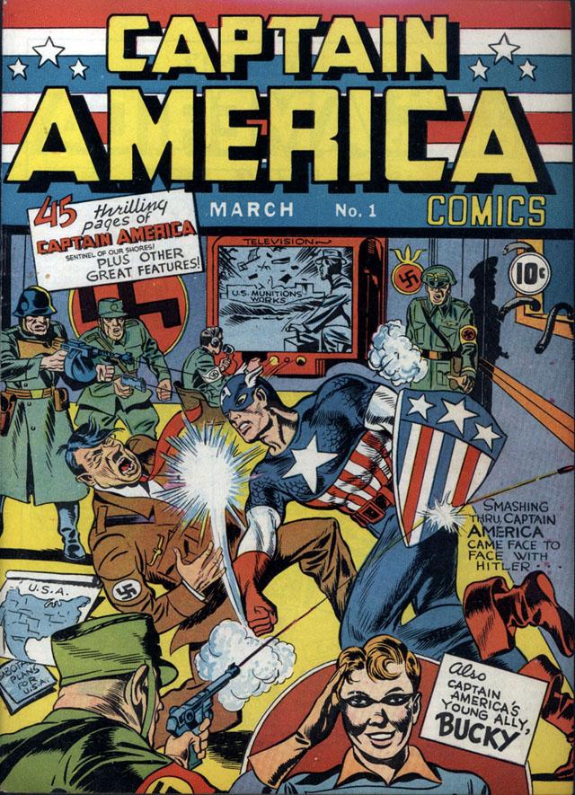 Captain America #1, March 1941
