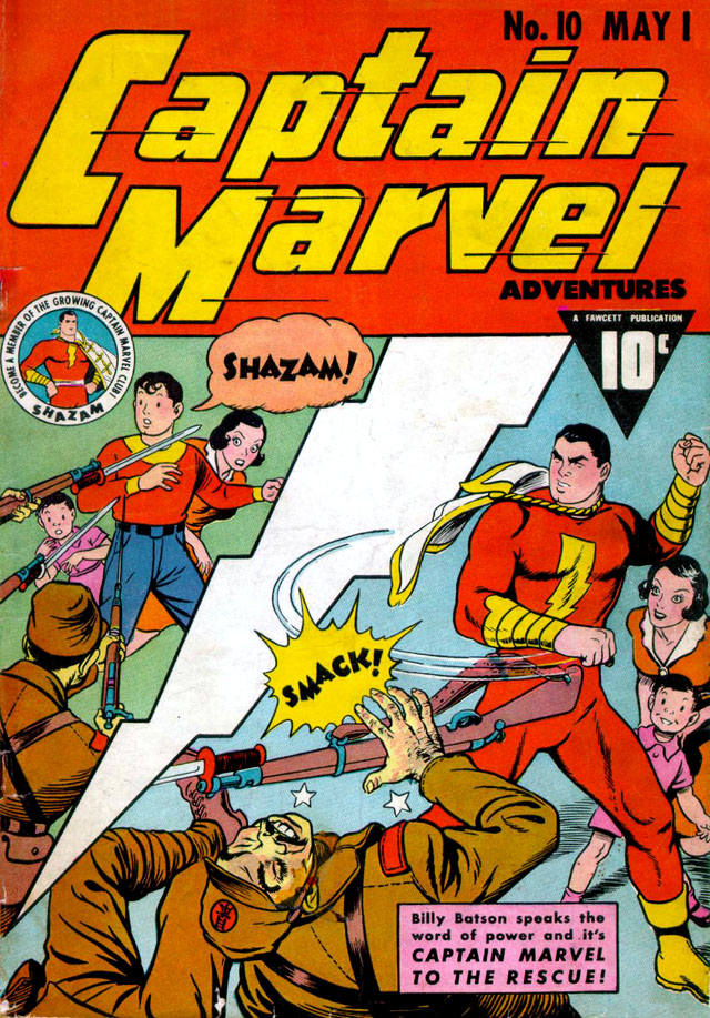 Captain Marvel Adventures #10, May 1942
