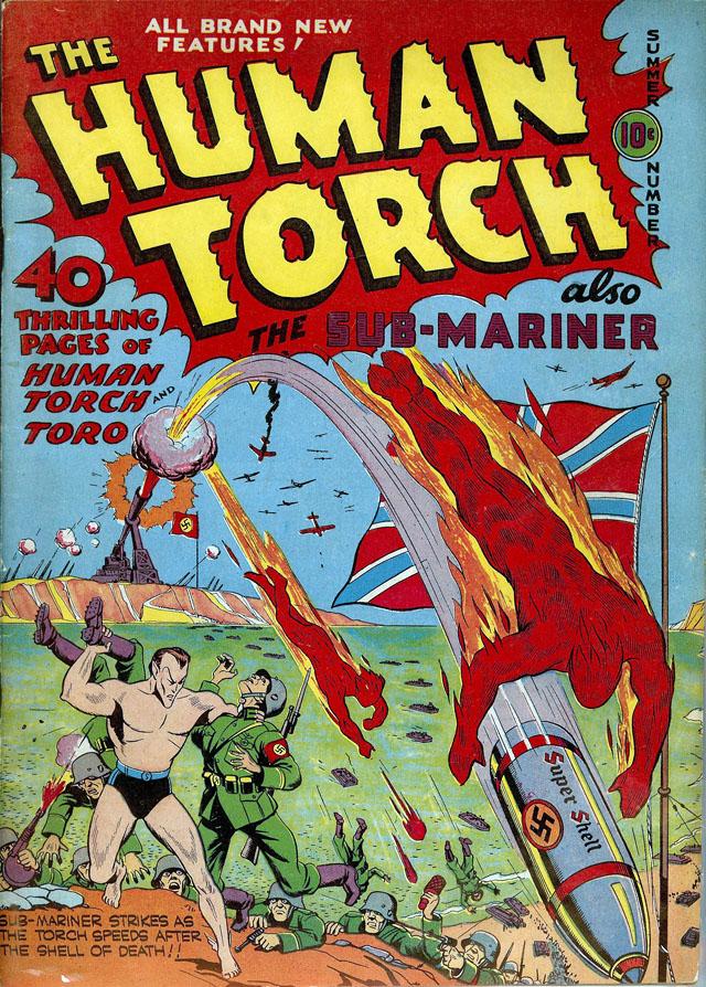 Human Torch (1940) #5, Summer 1941