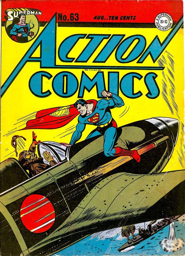 Action Comics #63, August 1943