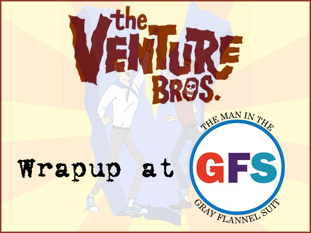 The Venture Bros. Wrapup logo