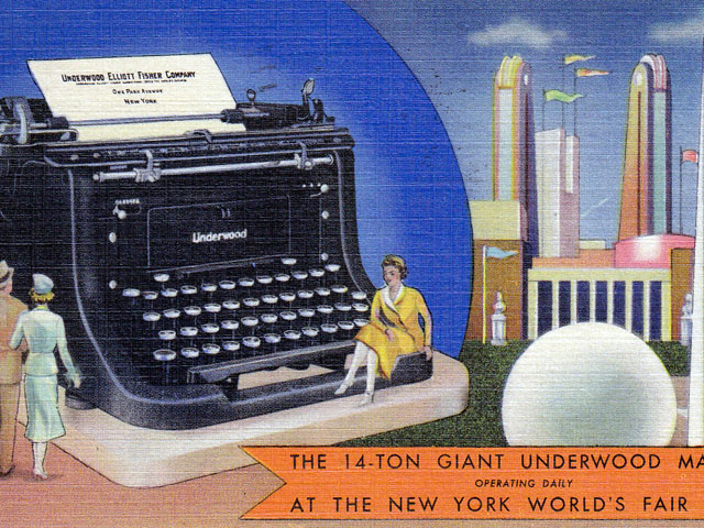 Vintage World's Fair postcard - New York (1939)