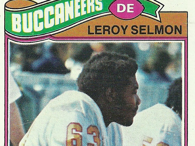 Lee Roy Selmon football card