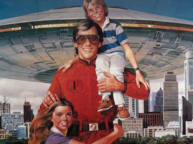 """""""Visitors"""" Poster from V: The Final Battle (1984)"""
