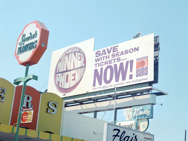 Ads from the Open Road, Volume 2: Phoenix Suns Billboards