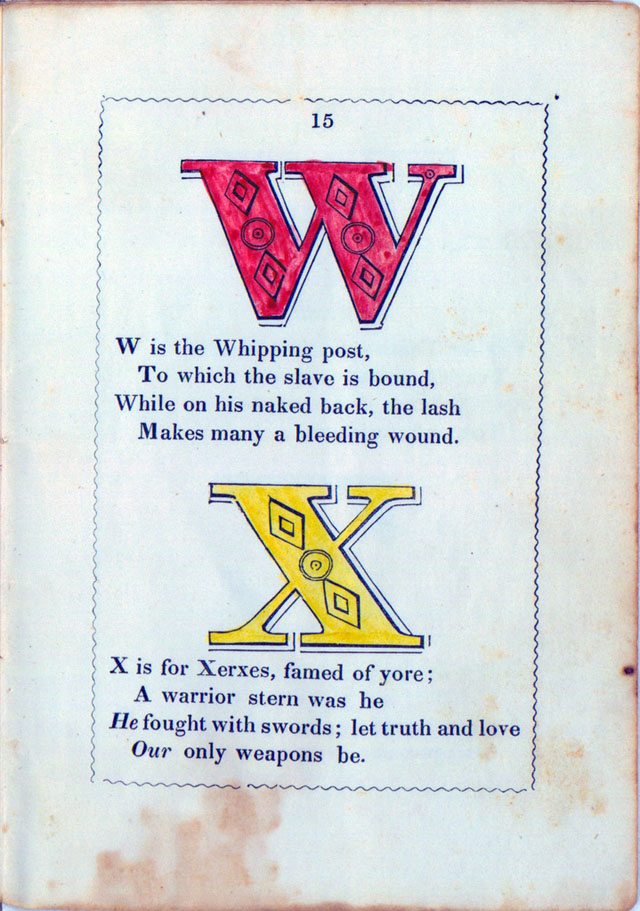 The Anti-Slavery Alphabet (1846)