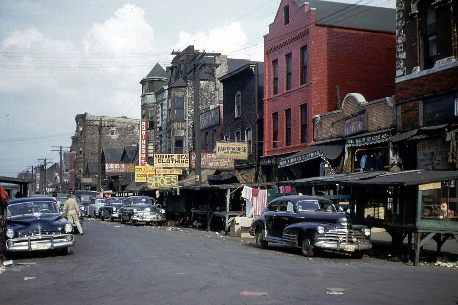 Vintage Kodachrome Photos of 1953 Chicago | grayflannelsuit.net
