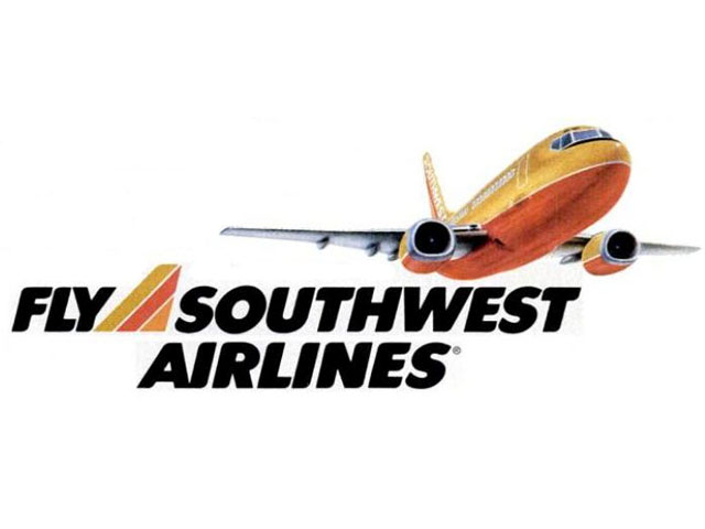 Southwest Airlines Logo 1988 1989