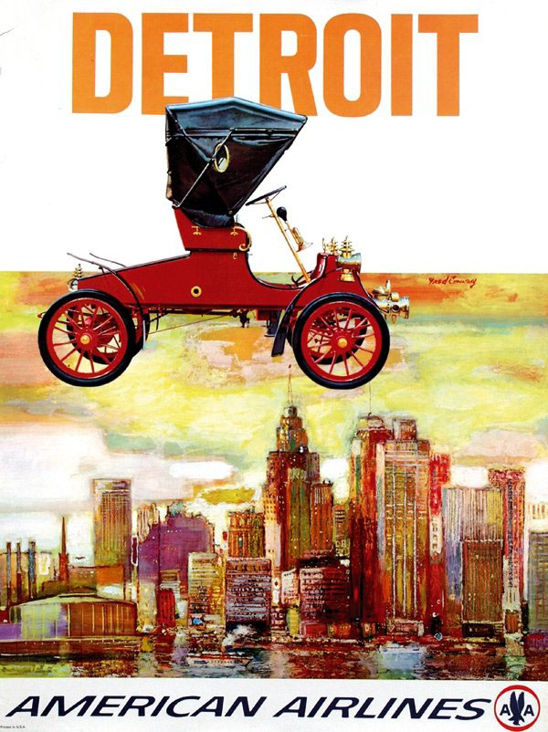 20 Beautiful Vintage Airline Travel Posters
