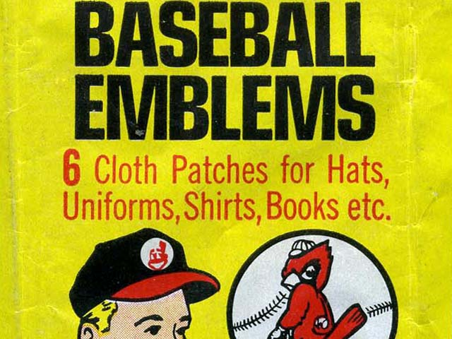 1968 Fleer Major League Baseball Team Logo Tallboy Cloth Patches (American League)