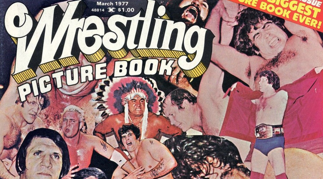 Wrestling Picture Book - March 1977