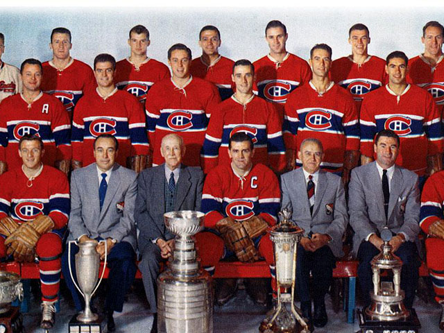 1956-57 Montreal Canadiens Stanley Cup Champions