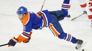 Taylor Hall of the Edmonton Oilers