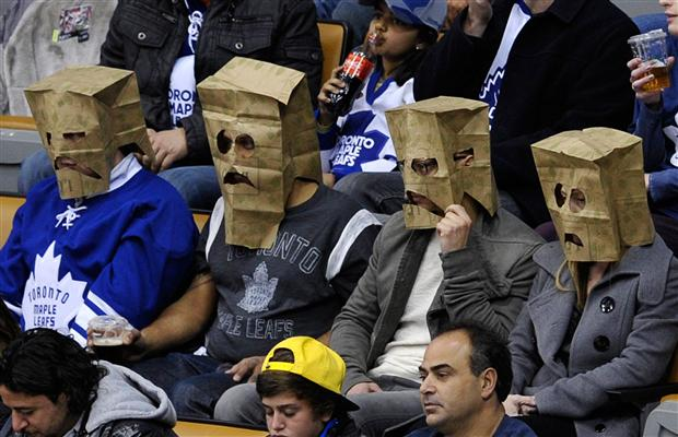 Sad Toronto Maple Leafs Fans Are Sad