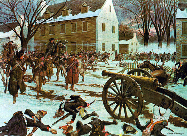 The Battle of Trenton - Hugh Charles McBarron, Jr.