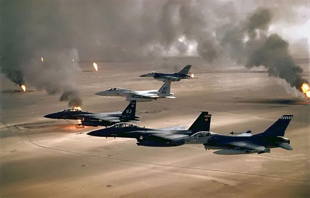 Gulf War (Operation Desert Storm) - 1990-1991