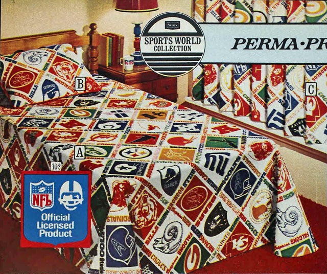 Football Friday -- Vintage NFL Products from the Sears Catalog, Part 1 ...