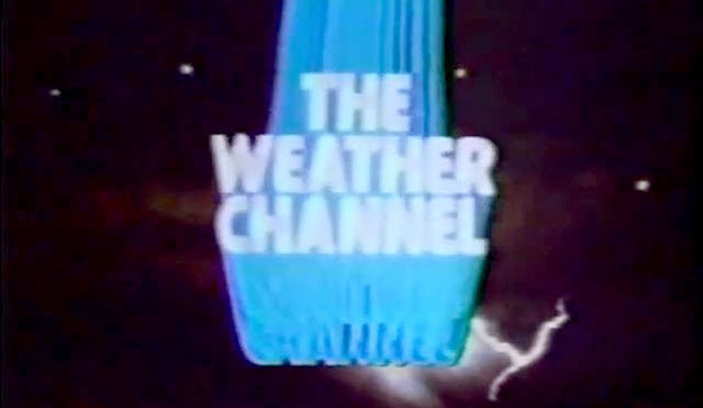 The Weather Channel logo screen - 1982