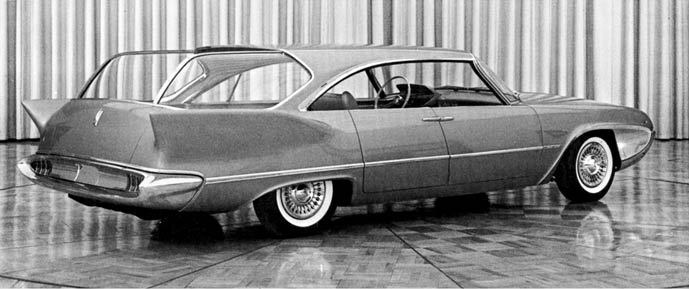 1958 Plymouth Cabana station wagon concept car