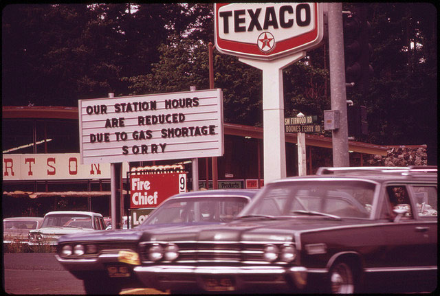 oil embargo of 1973 Forty years ago this week, arab oil producing countries imposed an oil embargo  on the us, to punish it for supporting israel during the yom.