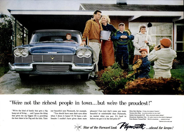Plymouth ad, 02-17-1958