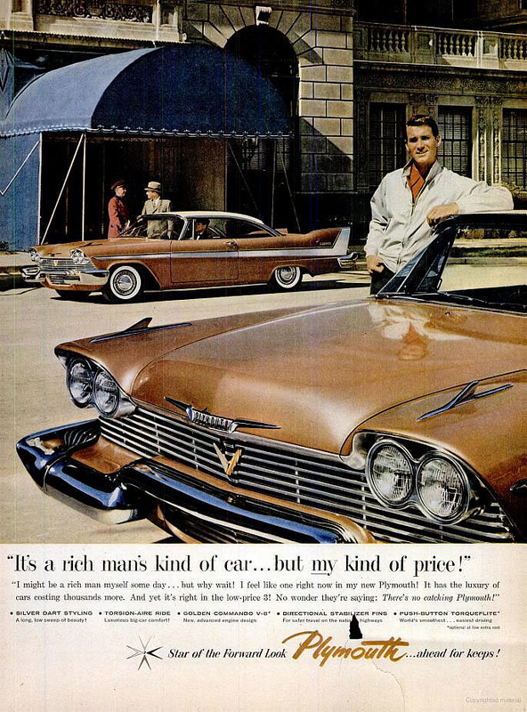 Plymouth ad, 12-16-1957