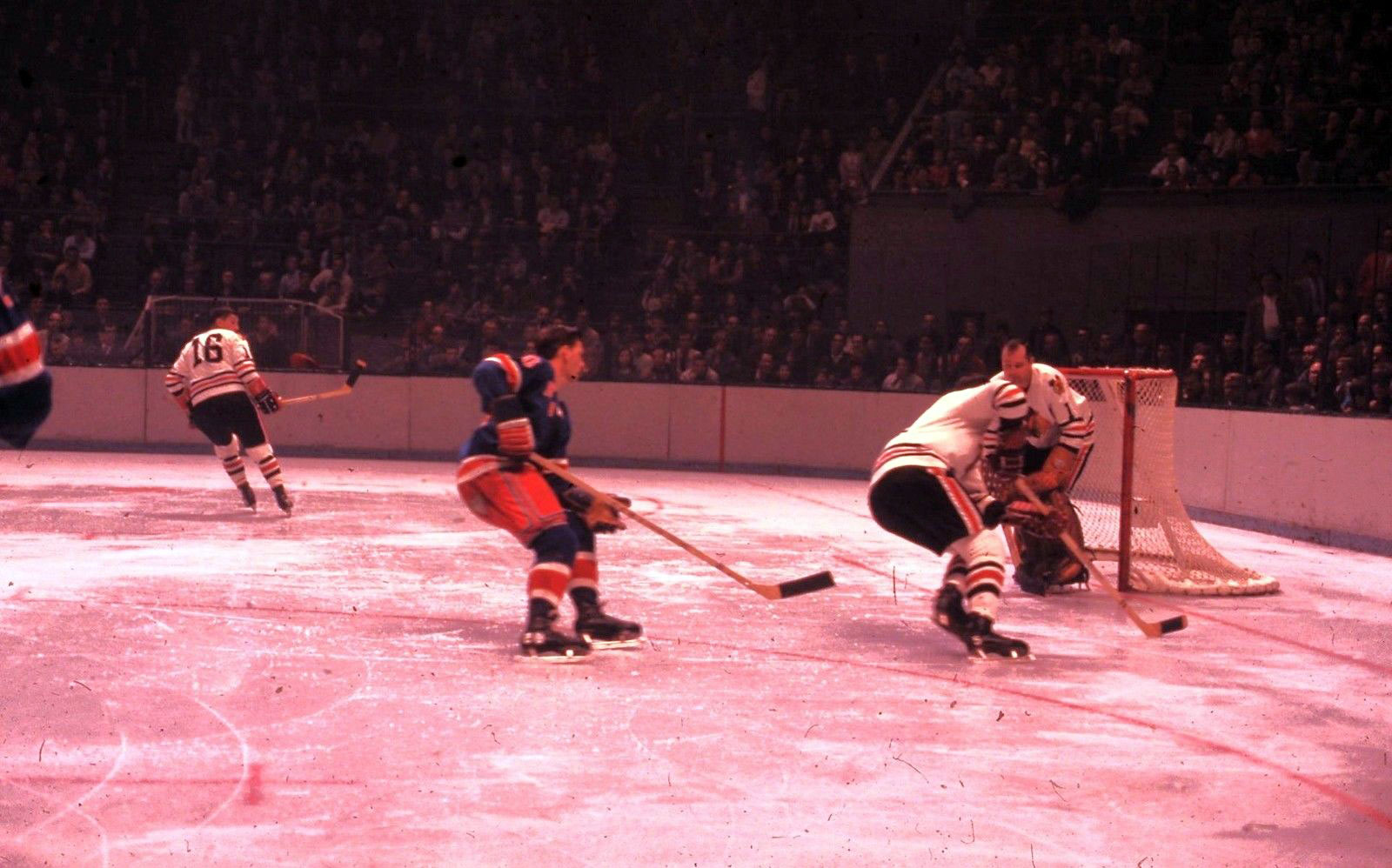 The Sporting Life #1: Rangers vs. Black Hawks, c. 1960s
