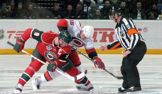Mikko Koivu for the Minnesota Wild