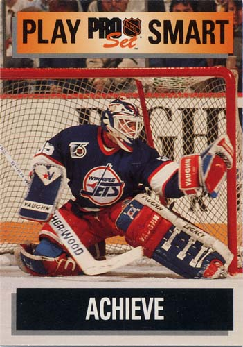 Bob Essensa 1992 Pro Set hockey card