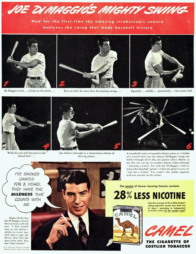 1950 Celebrity Smoking Ad