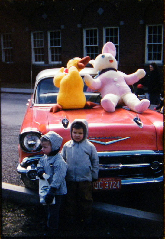 Kodachrome Memories #1: Easter in Illinois, 1961